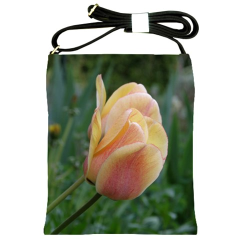 Tulip Bag 1 By Lisa    Shoulder Sling Bag   Txlln64g2n8q   Www Artscow Com Front