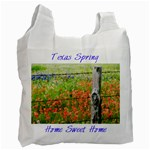 Texas Spring Singleside - Recycle Bag (One Side)