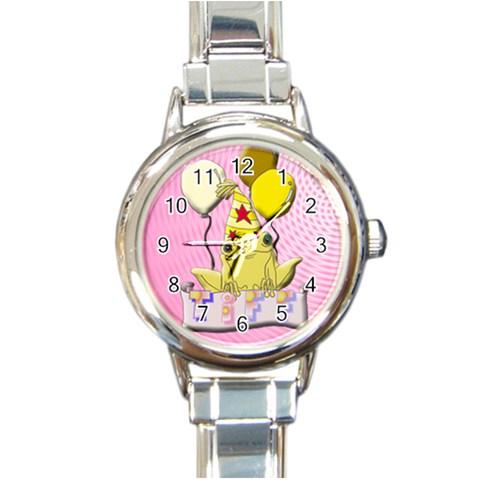 Reloj Tiff By Lydia   Round Italian Charm Watch   Gi6i6qa2zgpc   Www Artscow Com Front