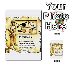 El Grande Cartes Actions En Francais By Plastic77   Multi Purpose Cards (rectangle)   Flvmm9alswjy   Www Artscow Com Front 6