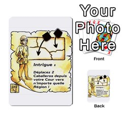 El Grande Cartes Actions En Francais By Plastic77   Multi Purpose Cards (rectangle)   Flvmm9alswjy   Www Artscow Com Front 8