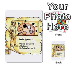 El Grande Cartes Actions En Francais By Plastic77   Multi Purpose Cards (rectangle)   Flvmm9alswjy   Www Artscow Com Front 2
