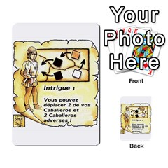 El Grande Cartes Actions En Francais By Plastic77   Multi Purpose Cards (rectangle)   Flvmm9alswjy   Www Artscow Com Front 11