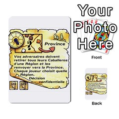 El Grande Cartes Actions En Francais By Plastic77   Multi Purpose Cards (rectangle)   Flvmm9alswjy   Www Artscow Com Front 13