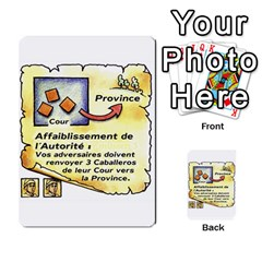 El Grande Cartes Actions En Francais By Plastic77   Multi Purpose Cards (rectangle)   Flvmm9alswjy   Www Artscow Com Front 14