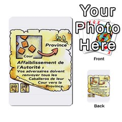 El Grande Cartes Actions En Francais By Plastic77   Multi Purpose Cards (rectangle)   Flvmm9alswjy   Www Artscow Com Front 15