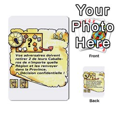 El Grande Cartes Actions En Francais By Plastic77   Multi Purpose Cards (rectangle)   Flvmm9alswjy   Www Artscow Com Front 20