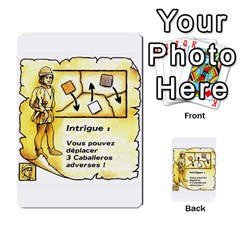 El Grande Cartes Actions En Francais By Plastic77   Multi Purpose Cards (rectangle)   Flvmm9alswjy   Www Artscow Com Front 3