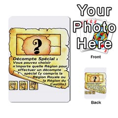 El Grande Cartes Actions En Francais By Plastic77   Multi Purpose Cards (rectangle)   Flvmm9alswjy   Www Artscow Com Front 24