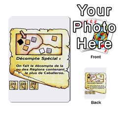 El Grande Cartes Actions En Francais By Plastic77   Multi Purpose Cards (rectangle)   Flvmm9alswjy   Www Artscow Com Front 26