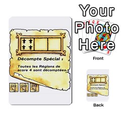 El Grande Cartes Actions En Francais By Plastic77   Multi Purpose Cards (rectangle)   Flvmm9alswjy   Www Artscow Com Front 29