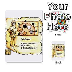 El Grande Cartes Actions En Francais By Plastic77   Multi Purpose Cards (rectangle)   Flvmm9alswjy   Www Artscow Com Front 4