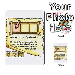 El Grande Cartes Actions En Francais By Plastic77   Multi Purpose Cards (rectangle)   Flvmm9alswjy   Www Artscow Com Front 32