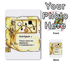 El Grande Cartes Actions En Francais By Plastic77   Multi Purpose Cards (rectangle)   Flvmm9alswjy   Www Artscow Com Front 5