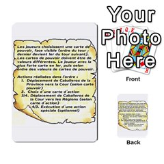 El Grande Cartes Actions En Francais By Plastic77   Multi Purpose Cards (rectangle)   Flvmm9alswjy   Www Artscow Com Front 48