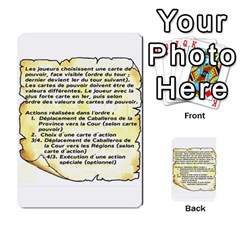El Grande Cartes Actions En Francais By Plastic77   Multi Purpose Cards (rectangle)   Flvmm9alswjy   Www Artscow Com Front 49