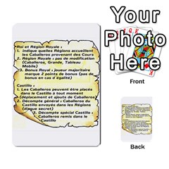 El Grande Cartes Actions En Francais By Plastic77   Multi Purpose Cards (rectangle)   Flvmm9alswjy   Www Artscow Com Back 50