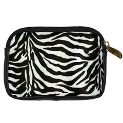 Lumix Zebra Camera Case By Catvinnat   Digital Camera Leather Case   043x8tj577pa   Www Artscow Com Back