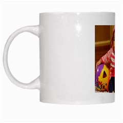 Mini Me By Somsack Chanthasenh   White Mug   Kl7ost7y68vz   Www Artscow Com Left