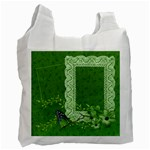 Green Bag, 2 photos - Recycle Bag (One Side)