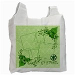 Green Bag, 1 side (2) - Recycle Bag (One Side)