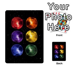 Constellations By Jack Reda   Multi Purpose Cards (rectangle)   3vdrcgmf0z70   Www Artscow Com Back 12