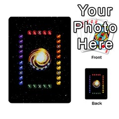Constellations By Jack Reda   Multi Purpose Cards (rectangle)   3vdrcgmf0z70   Www Artscow Com Front 18