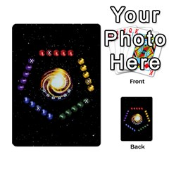 Constellations By Jack Reda   Multi Purpose Cards (rectangle)   3vdrcgmf0z70   Www Artscow Com Front 34