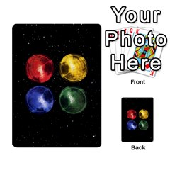 Constellations By Jack Reda   Multi Purpose Cards (rectangle)   3vdrcgmf0z70   Www Artscow Com Back 40