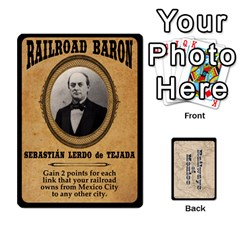 Jack Railways Of Mexico By Jason Spears   Playing Cards 54 Designs   Ul32pendiio5   Www Artscow Com Front - HeartJ