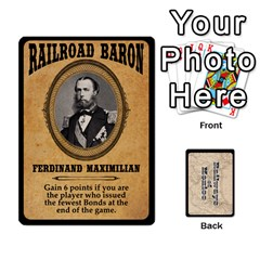 Railways Of Mexico By Jason Spears   Playing Cards 54 Designs   Ul32pendiio5   Www Artscow Com Front - Diamond2