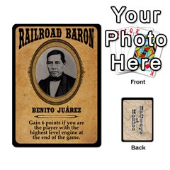 Railways Of Mexico By Jason Spears   Playing Cards 54 Designs   Ul32pendiio5   Www Artscow Com Front - Diamond3