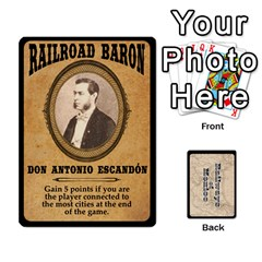 Railways Of Mexico By Jason Spears   Playing Cards 54 Designs   Ul32pendiio5   Www Artscow Com Front - Diamond4