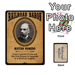 Railways Of Mexico By Jason Spears   Playing Cards 54 Designs   Ul32pendiio5   Www Artscow Com Front - Diamond7