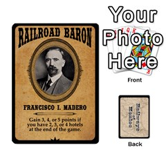 Railways Of Mexico By Jason Spears   Playing Cards 54 Designs   Ul32pendiio5   Www Artscow Com Front - Diamond8