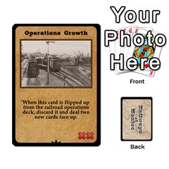 Railways Of Mexico By Jason Spears   Playing Cards 54 Designs   Ul32pendiio5   Www Artscow Com Front - Club8