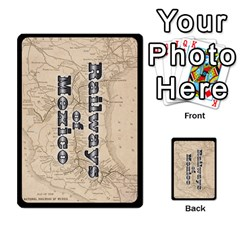 Railways Of Mexico By Jason Spears   Playing Cards 54 Designs   Ul32pendiio5   Www Artscow Com Back