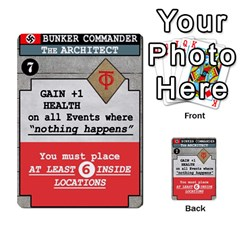Fire In The Hole!, Hooah!, Mayday! By James Hebert   Multi Purpose Cards (rectangle)   Zyheyngdnegu   Www Artscow Com Front 8