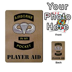 Fire In The Hole!, Hooah!, Mayday! By James Hebert   Multi Purpose Cards (rectangle)   Zyheyngdnegu   Www Artscow Com Back 12