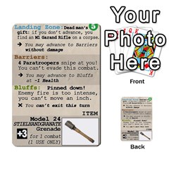 Fire In The Hole!, Hooah!, Mayday! By James Hebert   Multi Purpose Cards (rectangle)   Zyheyngdnegu   Www Artscow Com Front 17