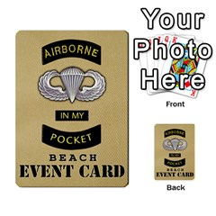 Fire In The Hole!, Hooah!, Mayday! By James Hebert   Multi Purpose Cards (rectangle)   Zyheyngdnegu   Www Artscow Com Back 22