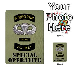 Fire In The Hole!, Hooah!, Mayday! By James Hebert   Multi Purpose Cards (rectangle)   Zyheyngdnegu   Www Artscow Com Back 23