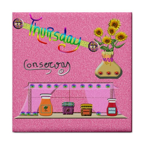 Thursday By Lydia   Face Towel   E27c3fr50ps9   Www Artscow Com Front