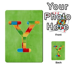 Boys Abc Cards ,flash And Memory Game  By Brookieadkins Yahoo Com   Multi Purpose Cards (rectangle)   Yc23agrgdra9   Www Artscow Com Front 51