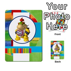 Boys Abc Cards ,flash And Memory Game  By Brookieadkins Yahoo Com   Multi Purpose Cards (rectangle)   Yc23agrgdra9   Www Artscow Com Back 8