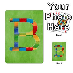 Boys Abc Cards ,flash And Memory Game  By Brookieadkins Yahoo Com   Multi Purpose Cards (rectangle)   Yc23agrgdra9   Www Artscow Com Front 2
