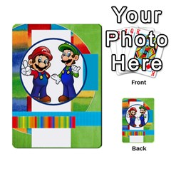 Boys Abc Cards ,flash And Memory Game  By Brookieadkins Yahoo Com   Multi Purpose Cards (rectangle)   Yc23agrgdra9   Www Artscow Com Back 12