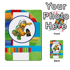 Boys Abc Cards ,flash And Memory Game  By Brookieadkins Yahoo Com   Multi Purpose Cards (rectangle)   Yc23agrgdra9   Www Artscow Com Back 18