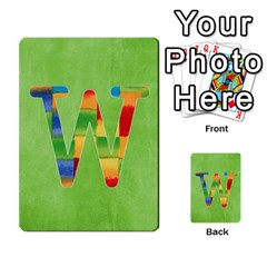 Boys Abc Cards ,flash And Memory Game  By Brookieadkins Yahoo Com   Multi Purpose Cards (rectangle)   Yc23agrgdra9   Www Artscow Com Front 23