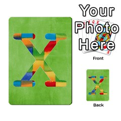 Boys Abc Cards ,flash And Memory Game  By Brookieadkins Yahoo Com   Multi Purpose Cards (rectangle)   Yc23agrgdra9   Www Artscow Com Front 24